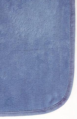 Плед детский 100х140 Luxberry Silk голубой