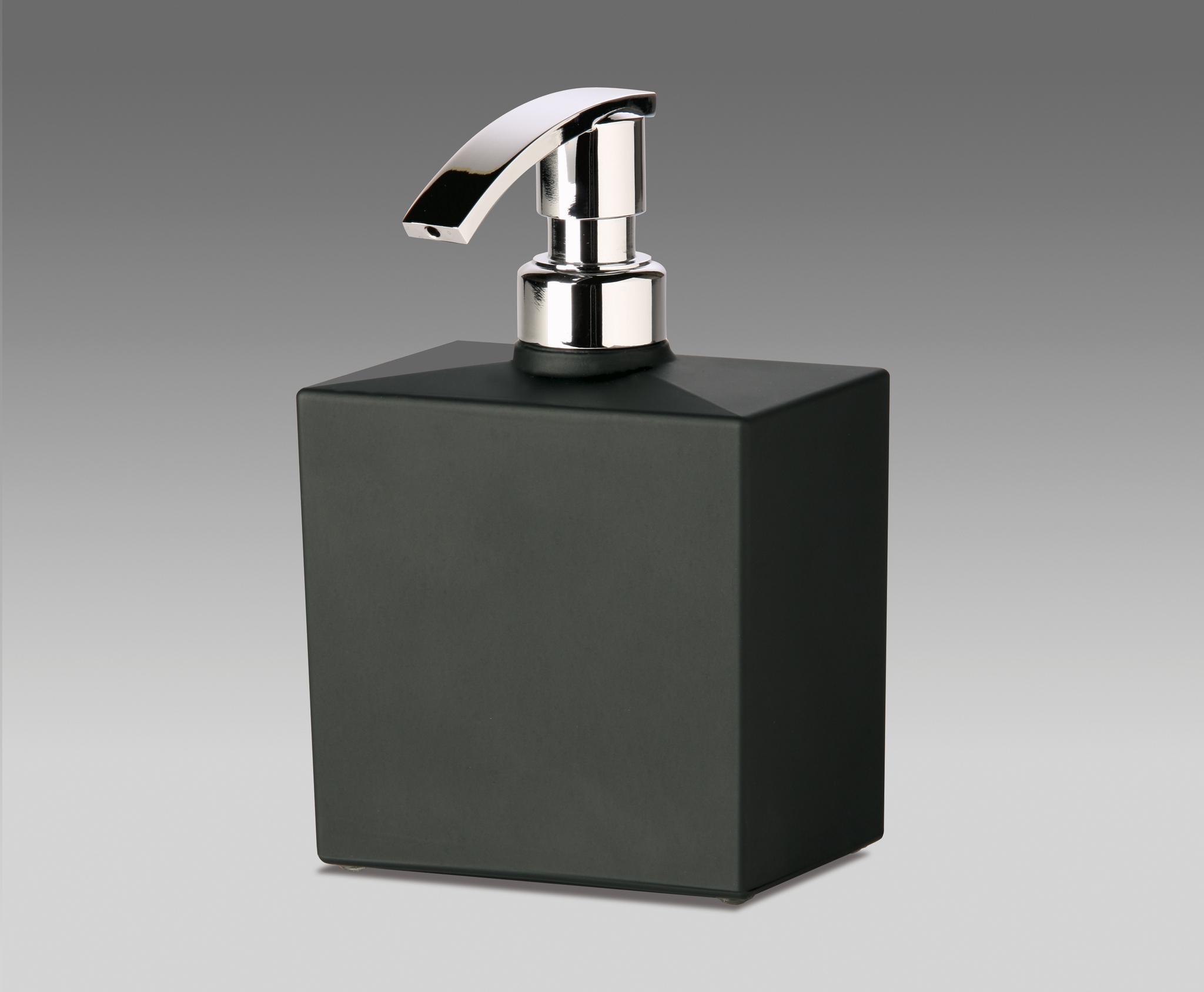 Дозаторы для мыла Дозатор для мыла Windisch 90301NCR Frozen Crystal dispenser-dlya-myla-90301-frozen-crystal-ot-windisch-ispaniya-chernyy.jpg