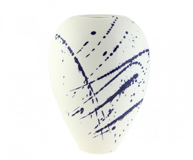 Вазы настольные Элитная ваза декоративная Abstraction овальная средняя от S. Bernardo elitnaya-vaza-dekorativnaya-abstraction-ovalnaya-srednyaya-ot-s-bernardo-portugaliya.jpg