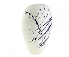 Элитная ваза декоративная Abstraction овальная средняя от S. Bernardo