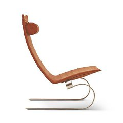 кресло pk-20 lounge ( кожа люкс )