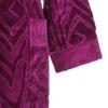 Элитный халат-кимоно велюровый Zebrona малиновый от Roberto Cavalli