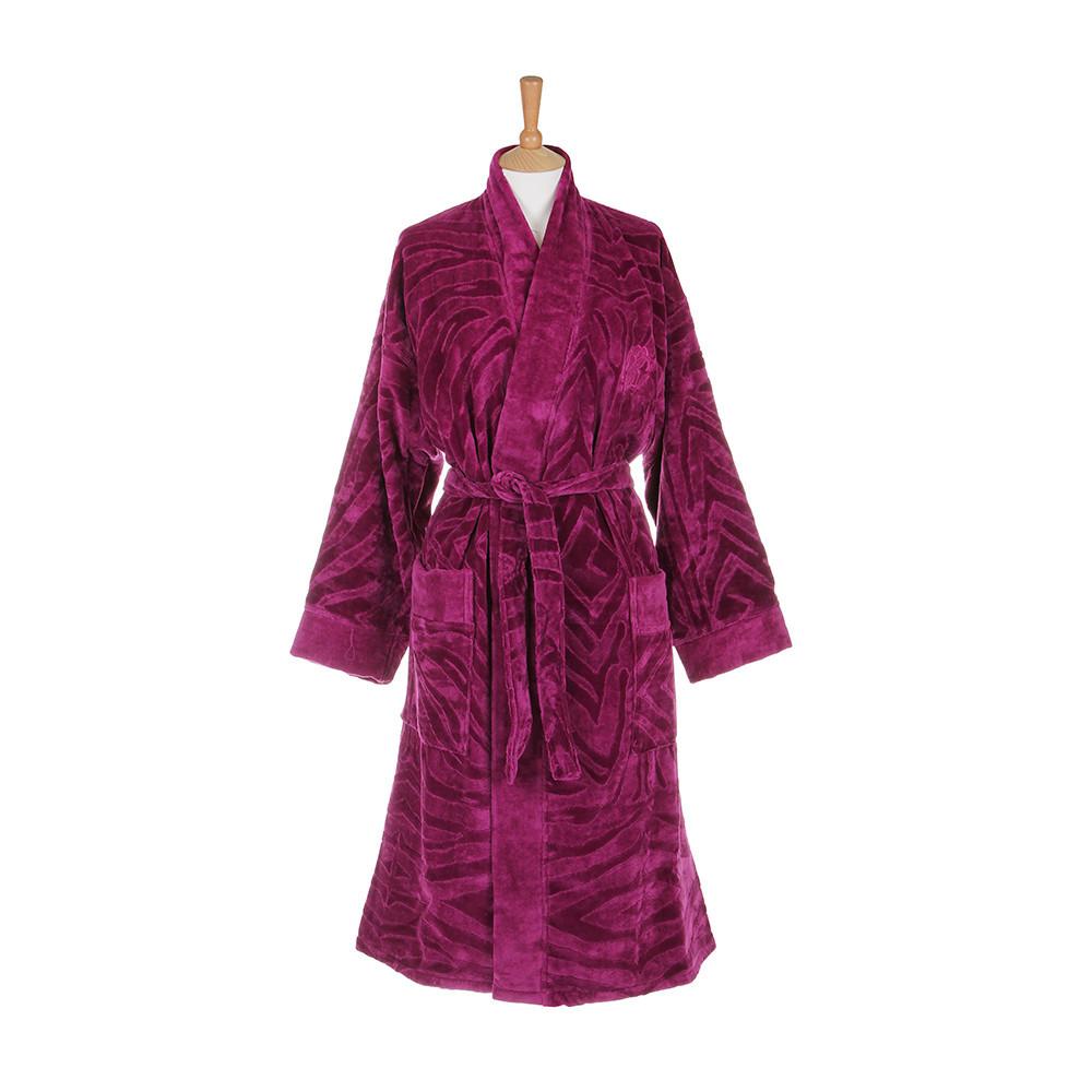 Халаты Халат-кимоно велюровый Roberto Cavalli Zebrona малиновый elitnyy-halat-kimono-velyurovyy-zebrona-malinovyy-ot-roberto-cavalli-italiya.jpg