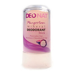 Минеральный дезодорант-кристалл с мангостином DeoNat (60 г)