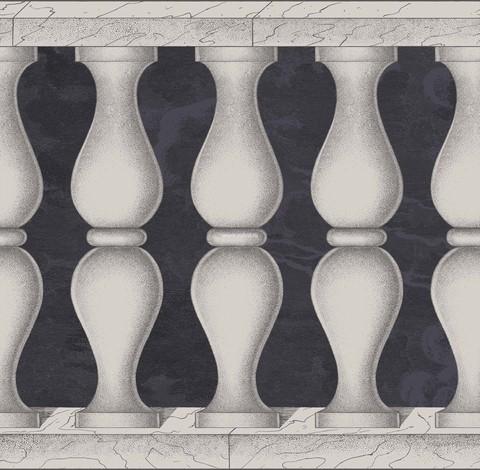 Бордюр Cole & Son Fornasetti II 97/3009, интернет магазин Волео