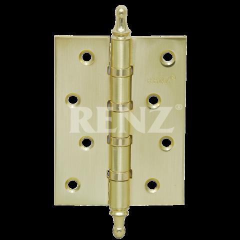 Фурнитура - Навес универсальный с колпачком Renz 100-4BB СH, цвет латунь блестящая