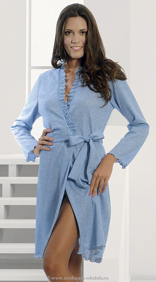 Женский домашний халат B&B (Женские халаты)