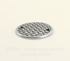 """Коннектор (1-1)TierraCast """"Плетеный диск"""" (цвет-античное серебро) 19 мм"""