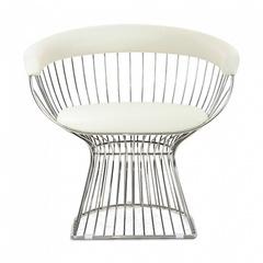 кресло platner lounge ( кожа)