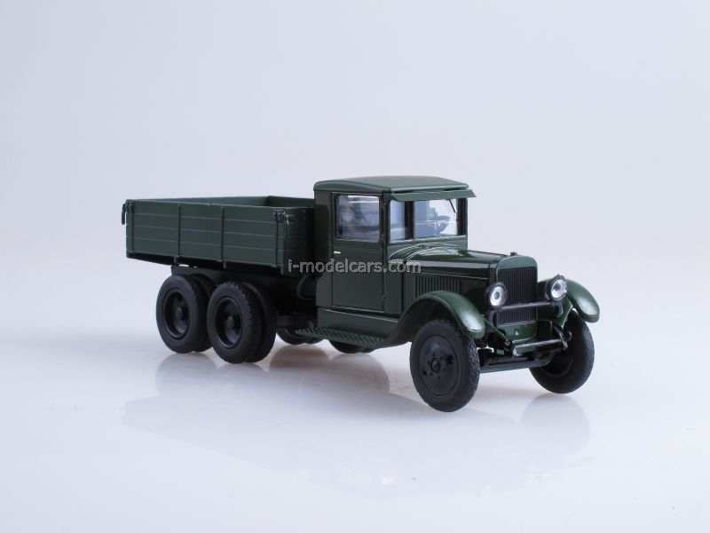ZIS-6 board green 1:43 Nash Avtoprom