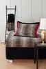Элитная наволочка декоративная шенилловая Safari 10 schwarz от Feiler