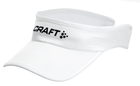 Козырек Craft Running Visor white