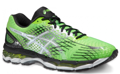 Asics Gel-Nimbus 17 Кроссовки для бега мужские Green