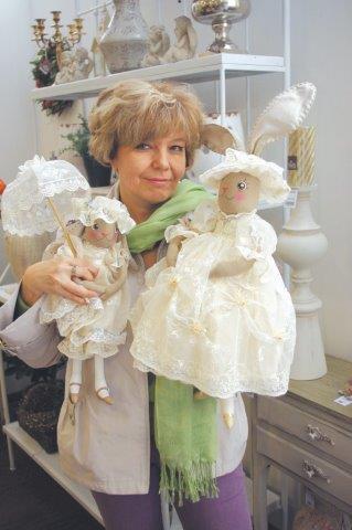 Войнатовская Елена Геннадьевна контэнт авторская кукла моделирование и декорирование