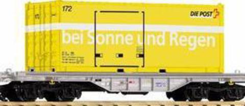 Piko 37715 Платформа с почтовым контейнером SBB, G