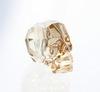 """5750 Бусина """"Череп"""" Сваровски Crystal Golden Shadow 13 мм"""