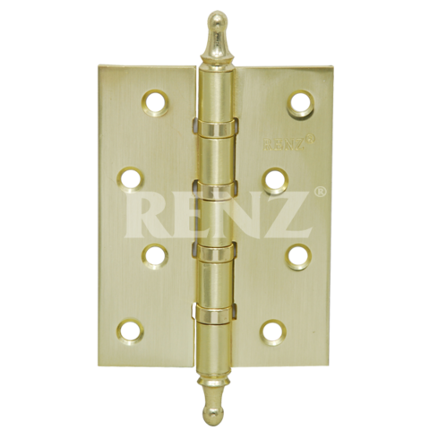 Фурнитура - Навес универсальный с колпачком Renz 100-4BB СH, цвет латунь матовая