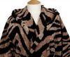 Элитный халат велюровый Zebra серый от Roberto Cavalli