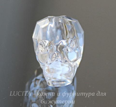 """5750 Бусина """"Череп"""" Сваровски Crystal 19 мм"""