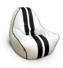 Кресло вайпер Бело-Черное