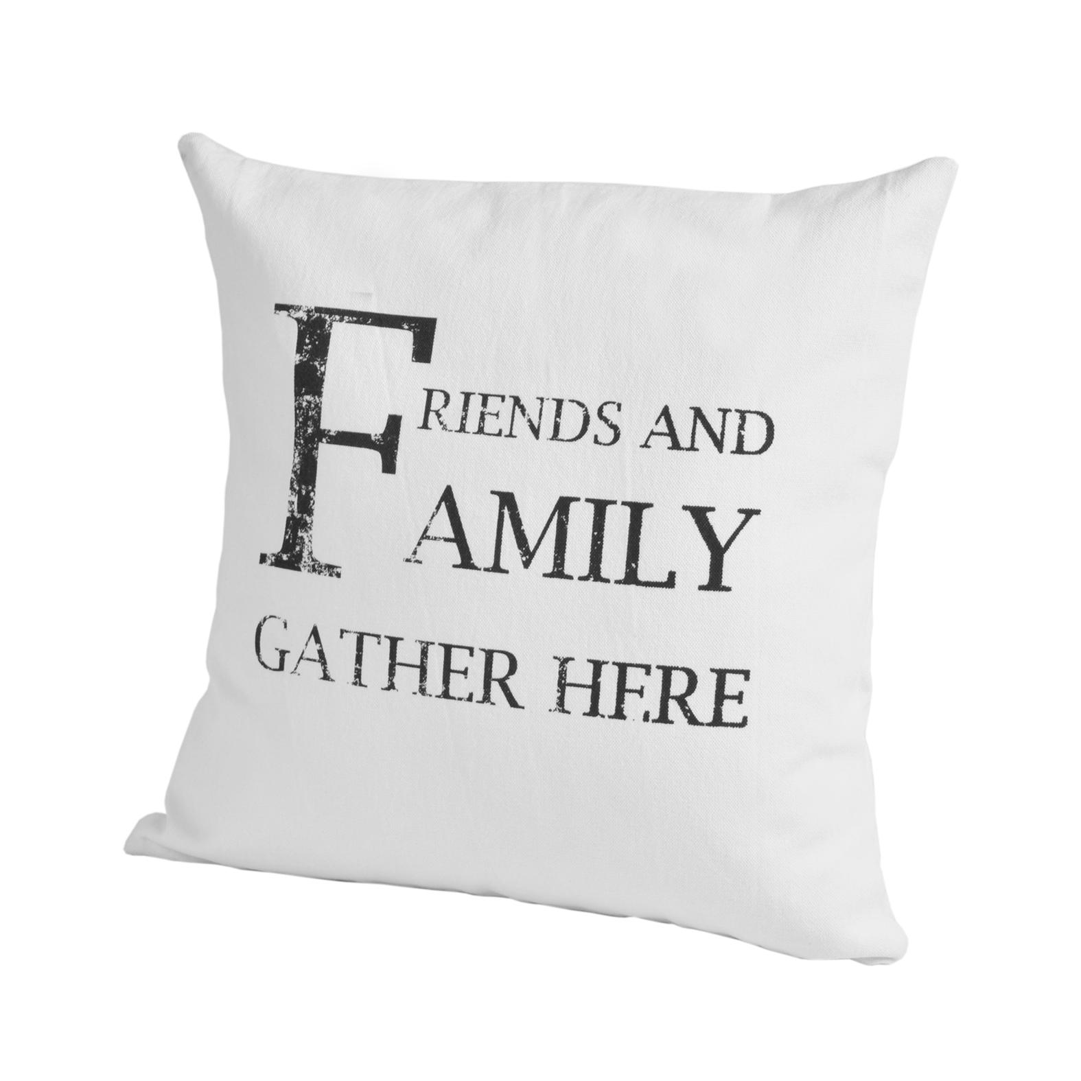 Элитная подушка декоративная Script Family от Casual Avenue
