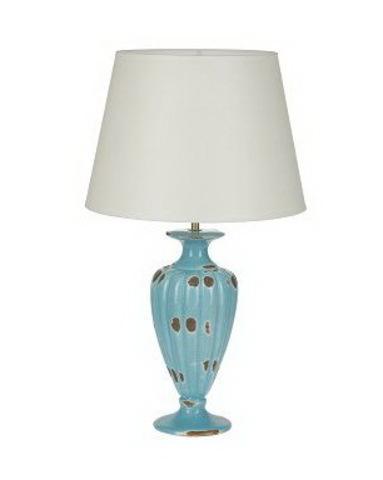 Элитная лампа настольная Craquelure бежевый абажур от Sporvil