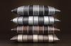 Элитный пододеяльник Stripe серебро от Elegante