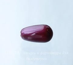 5816 Хрустальный жемчуг Сваровски Crystal Blackberry Капля с несквозным отверстием 11,5х6 мм