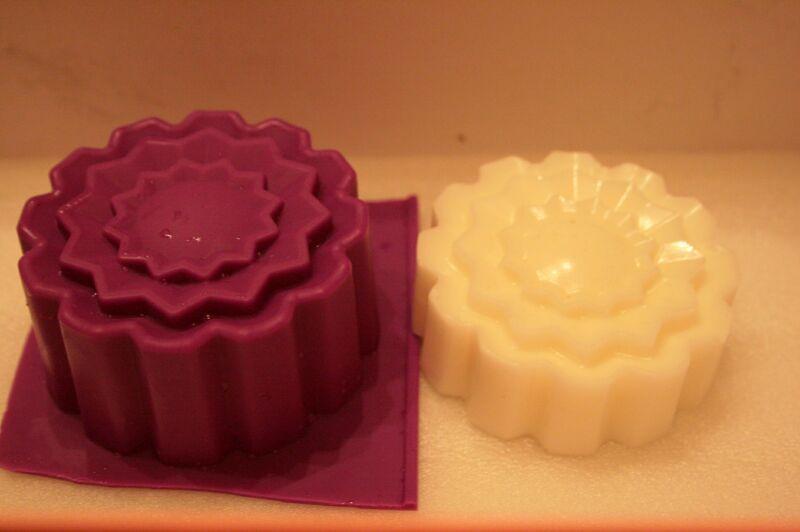 Цветок ажурный силиконовая форма