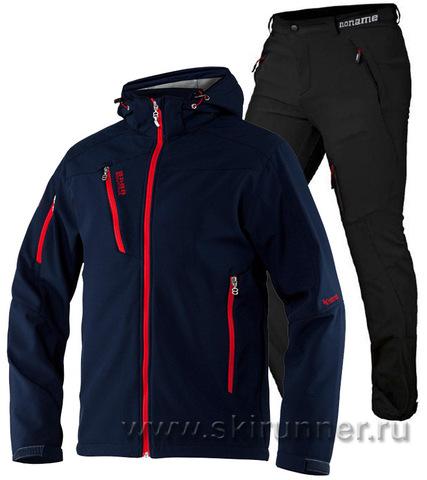 Лыжный утепленный костюм 8848 Altitude Recharger Marine Noname Grassi