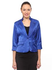 9018-4 пиджак женский синий