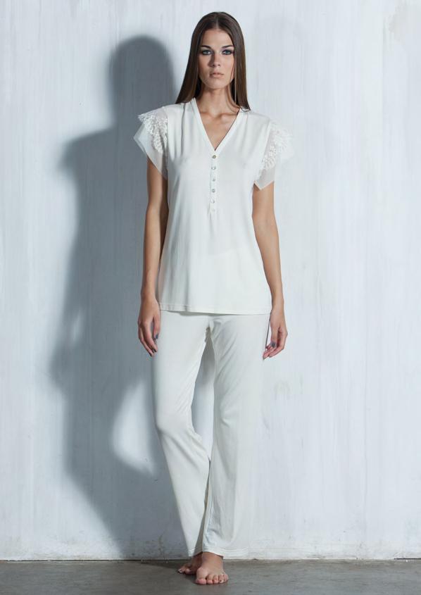 Женская пижама из микромодала Verdiani (Домашние костюмы и пижамы)