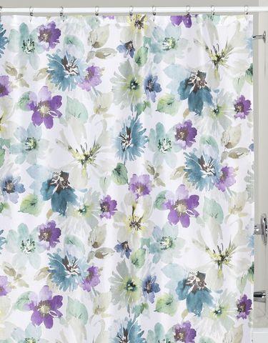 Элитная шторка для ванной Bouquet от Creative Bath