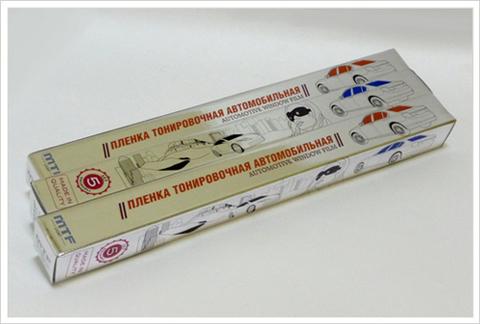 Тонировочная автомобильная пленка MTF Premium (charcoal, 10%, 0.5x3 м)