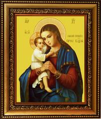 Взыскание Погибших. Икона Божьей Матери на холсте.