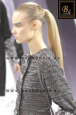 Накладной хвост оттенок #23-Светло-русый пепельный блонд-63-65 CM