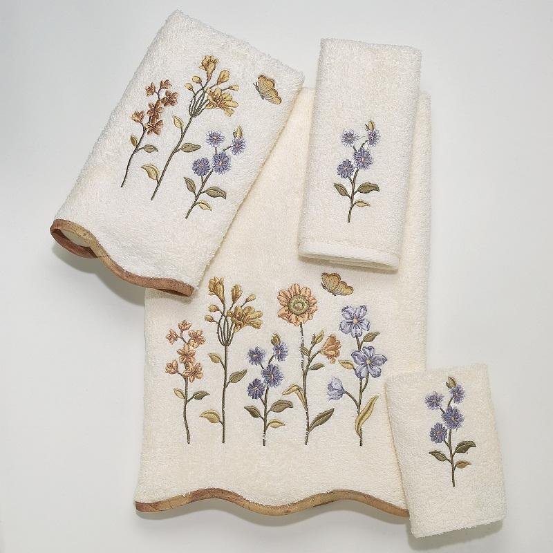 Полотенца Полотенце 41х76 Avanti Country Floral слоновой кости elitnoe-polotentse-mahrovoe-country-floral-slonovaya-kost-ot-avanti-kanada.jpg