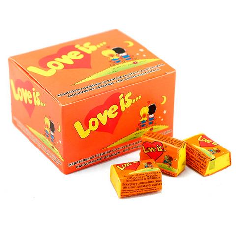Блок жвачек Love is —