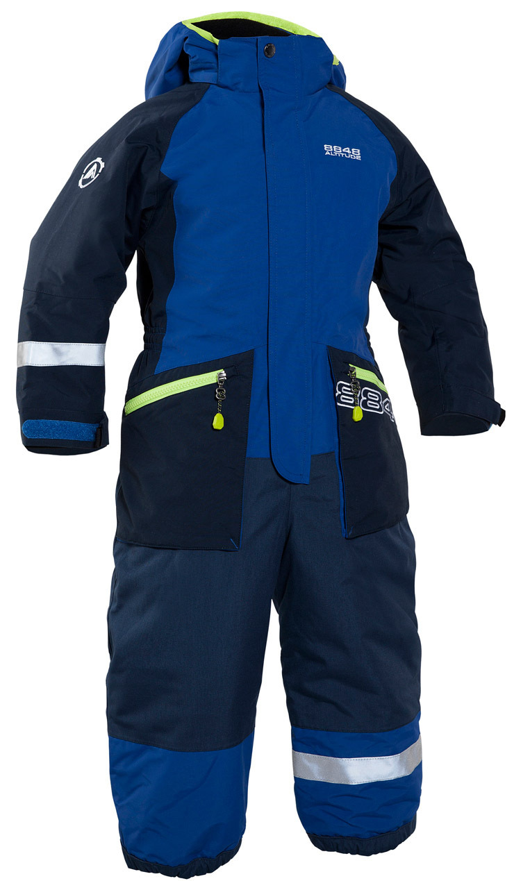 Комбинезон 8848 Altitude Monte Dore Suit Berliner Blue детский