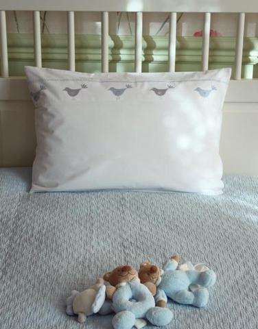 Покрывало детское 110х140 Luxberry Звездочка голубое