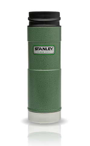 Термокружка Stanley Classic Mug (0.47 л.) 1-Hand, темно-зеленая
