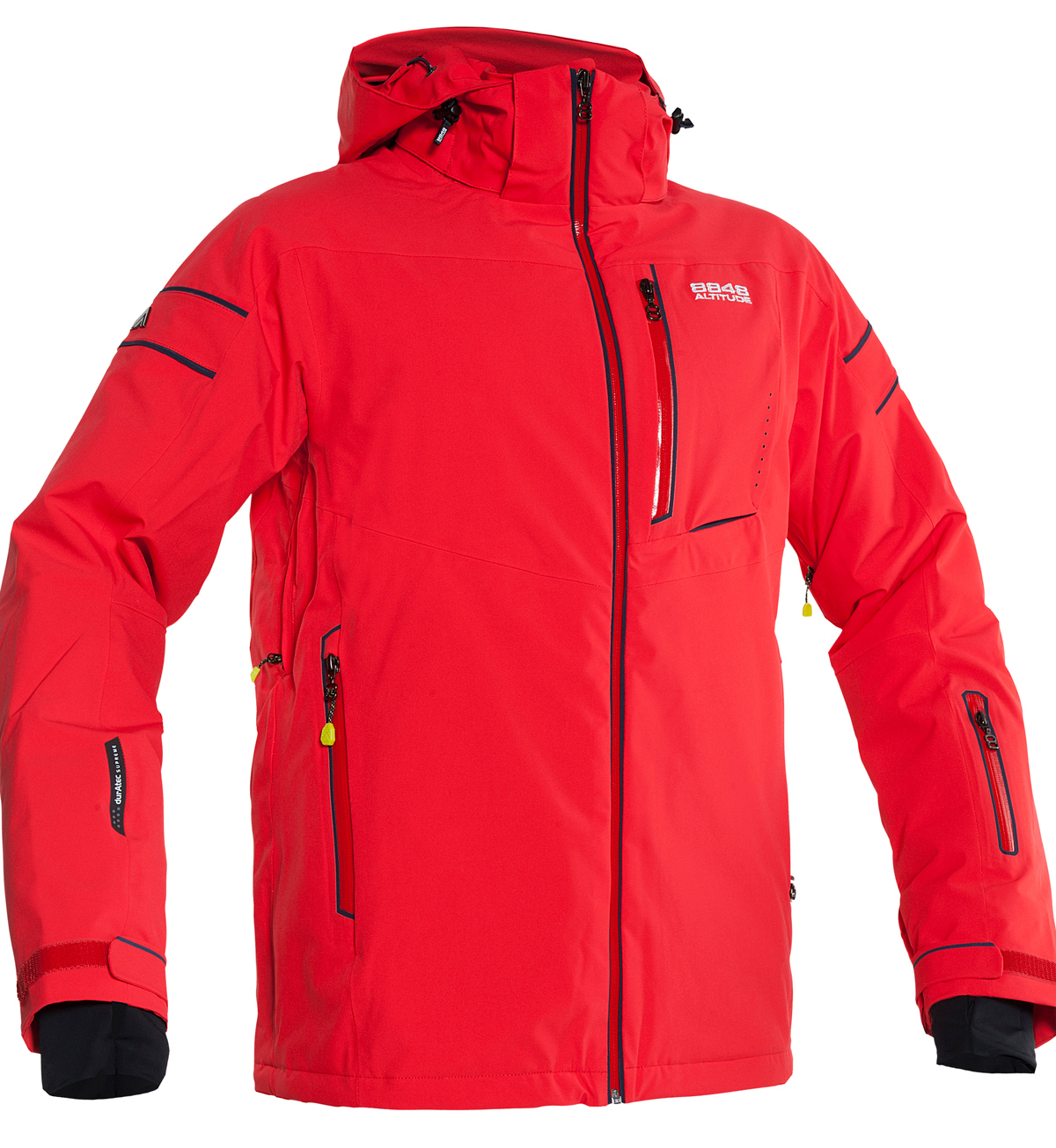 Мужская горнолыжная куртка 8848 ALTITUDE «SWITCH» красная (782903)