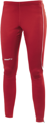 Тайтсы женские Craft Track and Field красные