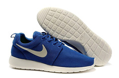 Кроссовки мужские Nike Roshe Run Material Blue White