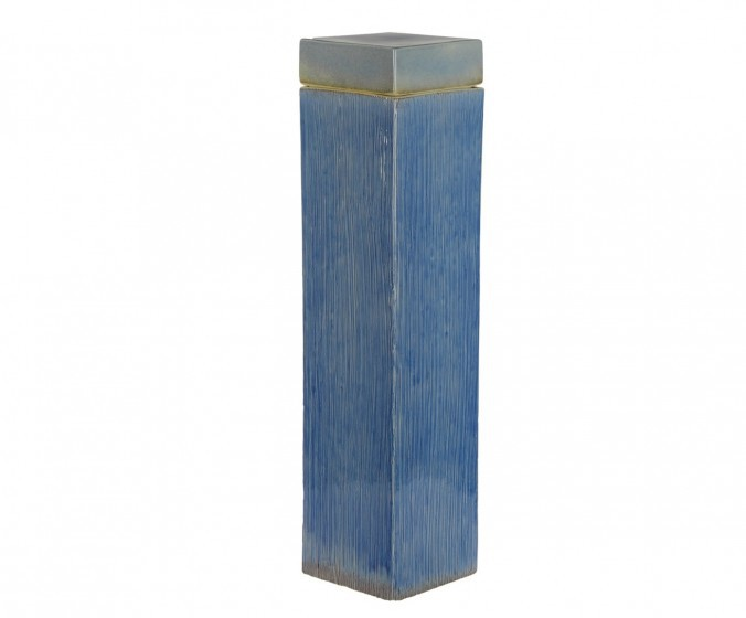 Элитная ваза декоративная Blue-and-White porcelain с крышкой от S. Bernardo