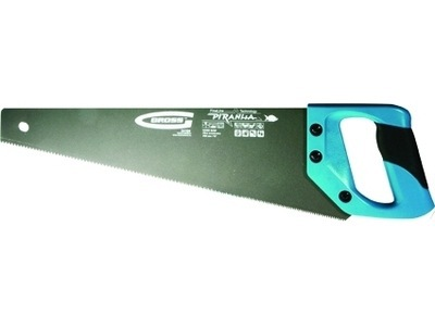 """Ножовка по дереву """"PIRANHA"""",400 мм,11-12 TPI,зуб-3D,кал.зуб,тефл.покр.полотна,2-х комп.рук-ка GROSS 24111"""