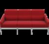 диван Arne Jacobsen Series 3300 3 seats sofa