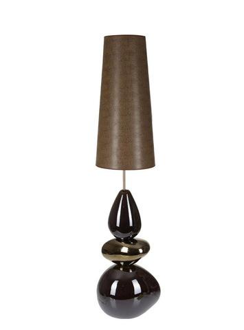 Элитная лампа напольная France коричневая от Sporvil