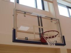 Щит баскетбольный игровой, оргстекло 15мм 1800х1050мм, на металлической раме