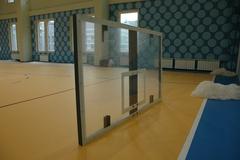 Щит баскетбольный игровой, оргстекло 10мм 1800х1050мм, на металлической раме